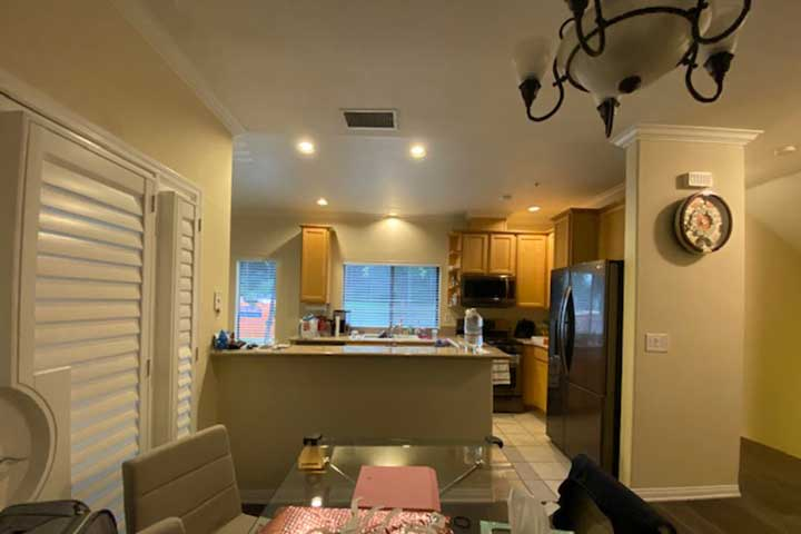 Pasadena kitchen before